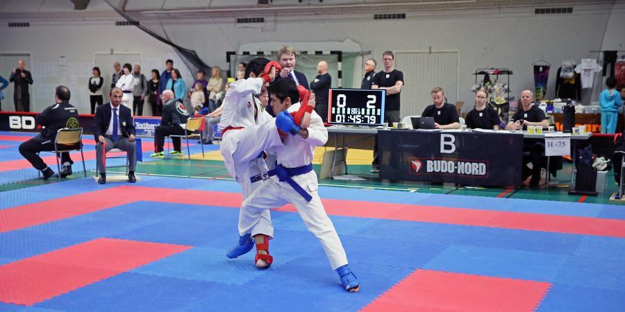 Zaman i aktion på Boden Open 13 februari.