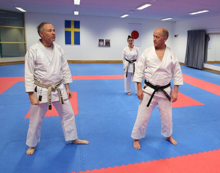 I samband med ÖNKF:s årsmöte i Skellefteå, var det även självförsvarsträning med Hardy Holm.