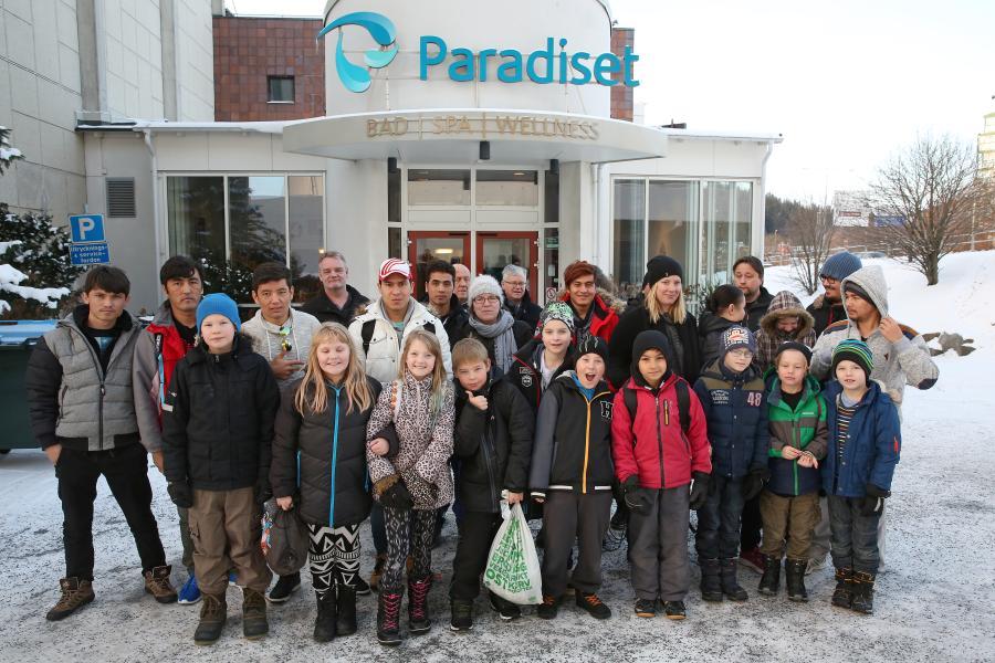Klubben besökte lördag 12 november Paradiset i Örnsköldsvik.