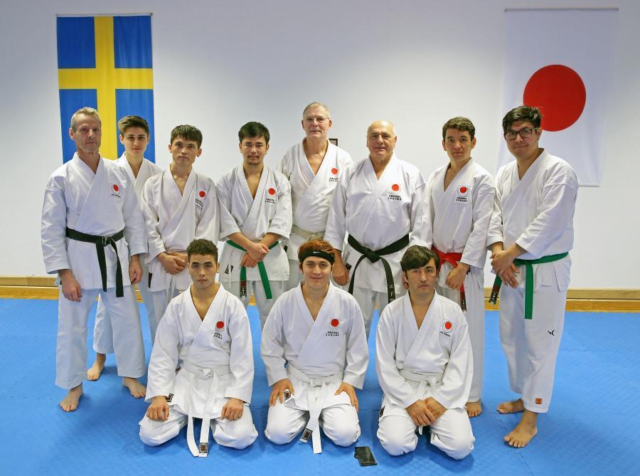 Åtta personer från åseleklubben deltog 18-19/11 i JKA Swedens läger i Skellefteå, med JKA Swedens ordförande Edo Stajerer och Bengt Sonesson.
