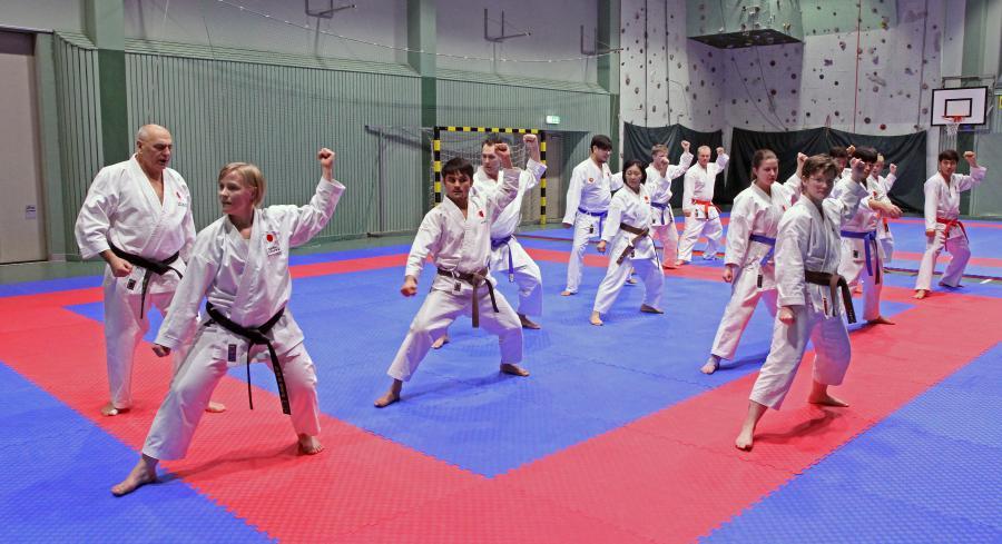 Helgen 3-5 mars hade klubben läger med Edo Stajerer, ordförande i JKA Sweden. Med på lägret var även karatekas från Älvsbyn, Storuman och Umeå.