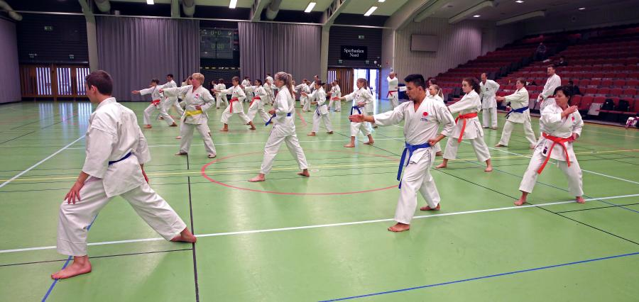 Fem medlemmar från klubben deltog lördag 22 april på lägret i Piteå.