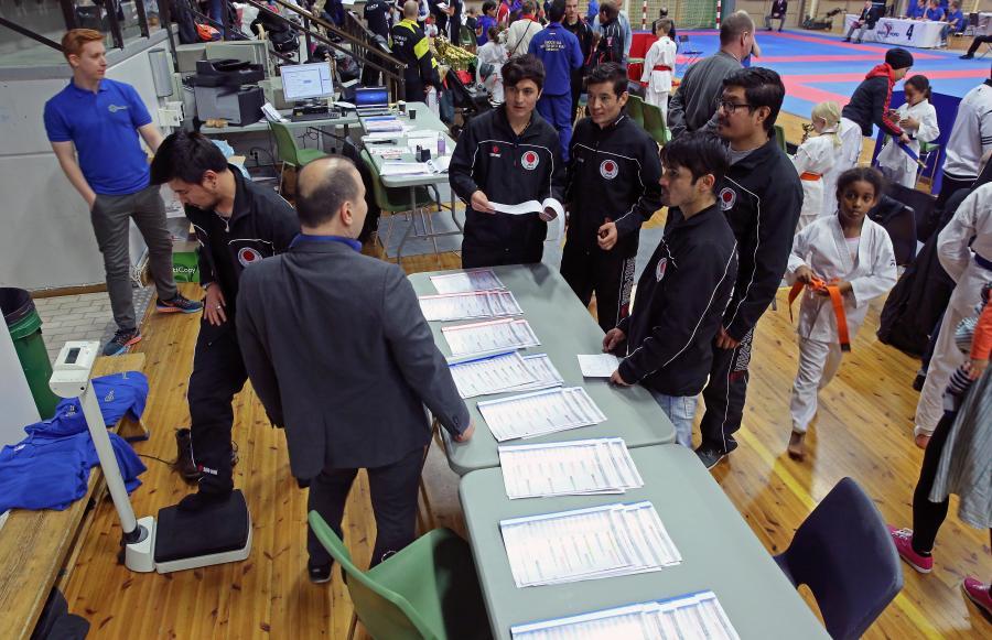 Klubben deltog med fem tävlande i Solna Karate Cup 21 oktober.