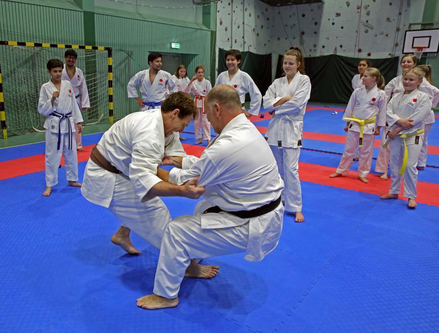 14-15 oktober i fjol genomförde klubben ett kumiteläger med Robert Tegel, ansvarig för JKA Swedens kumitelandslag.