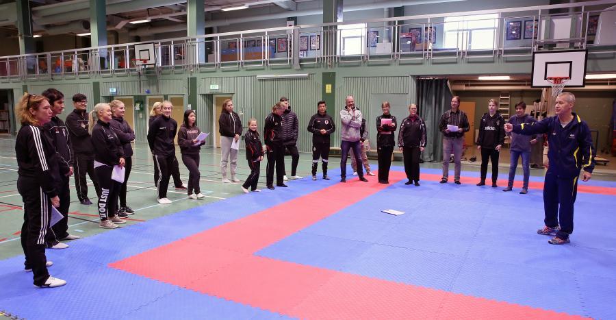 JKA Sweden hade helgen 22-23 september en utbildning i Åsele för domare och coacher.