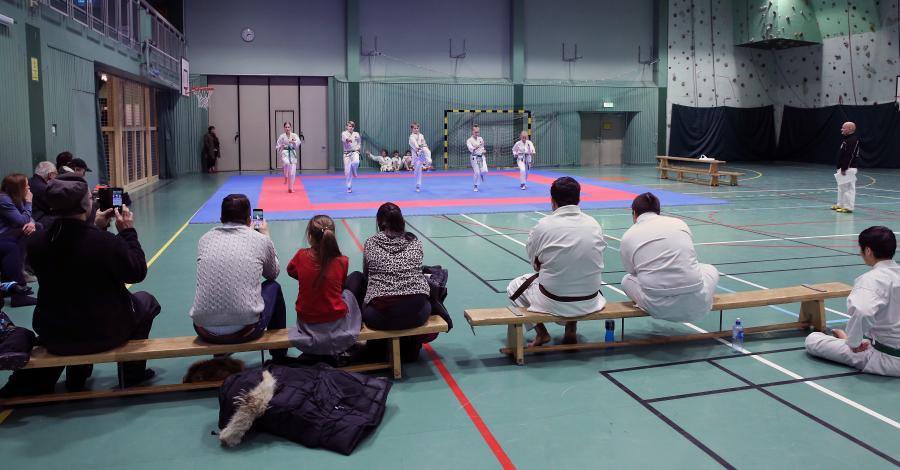 Klubben hade gradering lördag 15 december.