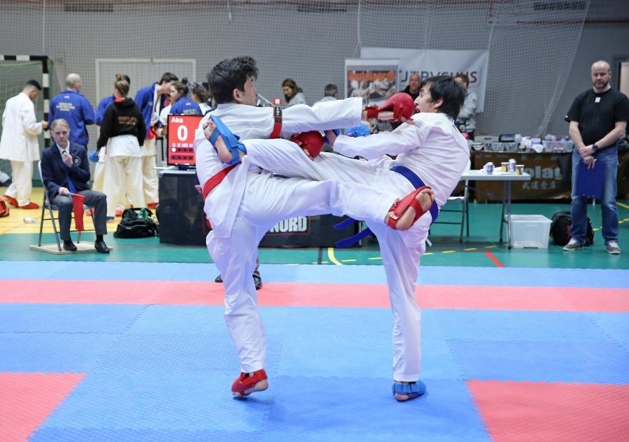 Åsele Shotokan Karate Klubb hade fyra tävlande med i tävlingen Boden Open 2 febrauri.