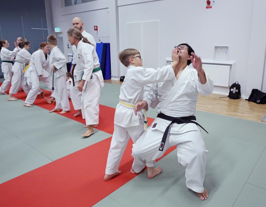 ÖNKF hade kata- och självförsvarsträning i Umeå lördag 19 oktober, med Johan Backteman 7 dan.