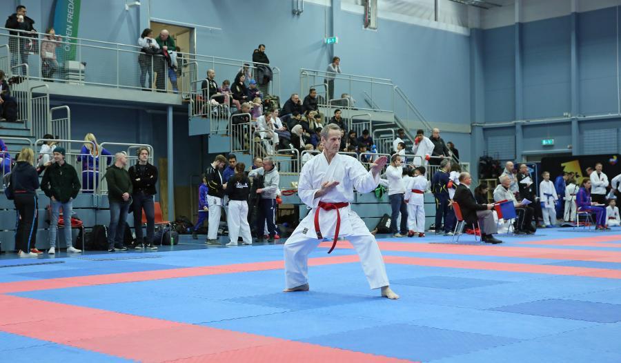 Sylve deltog i tävlingen Karate Masters i Täby den 29 februari.
