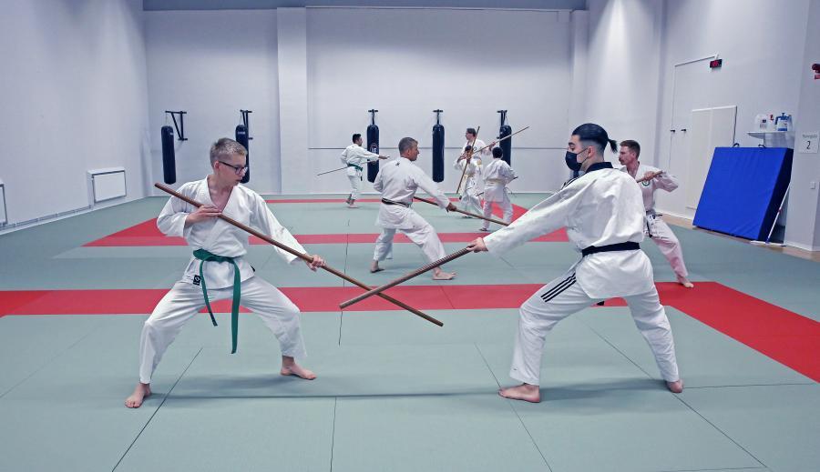 Lördag 19 juni hade Chikubukai Umeå ett kobudo (vapen)- och karateläger med Johan Backteman 7 dan.